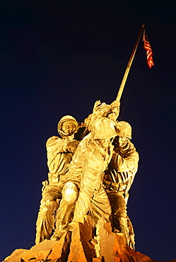 Iwa Jima Memorial Marine Corps War Memorial Arlington Cemetery In Usa