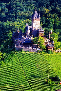 Cochem Castle, Cochem, Mosel River Valley, Germany