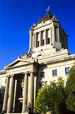 Manitoba Legislative Building, Winnipeg, Manitoba, Canada