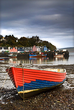 Fishing Boat In Tobermory, Isle Of Mull, Scotland