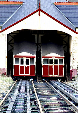 Trams In Scarborough, North Yorkshire, England