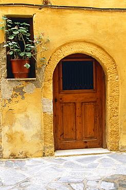 Doorway In Hania, Crete, Greece