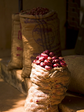 Sack Of Potatoes, Kerala, India