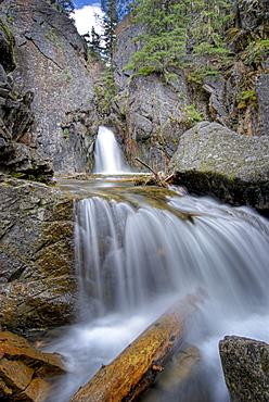 A Waterfall In Kananaskis
