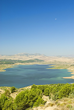 Reservoir, Malaga Lake, Andalusia, Spain