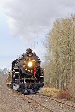 Steam Locomotive, Portland, Oregon, Usa