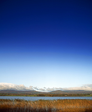 Brackle Lough With Cuilcagh Mountains In The Background, Bawnboy, Brackle Lough, Co Covan, Ireland