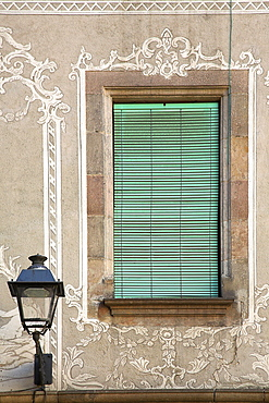 Lamp Window, Barcelona, Spain