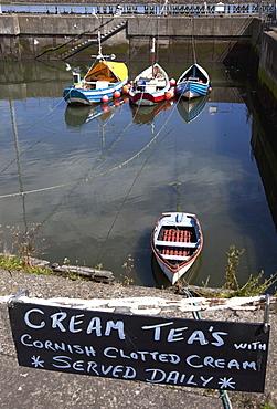 Boats, Amble Harbor, Northumberland, England