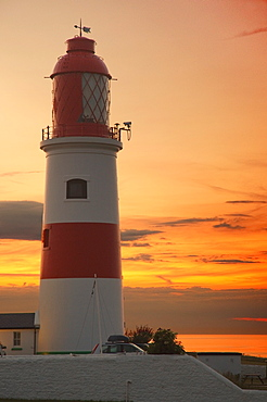 Lighthouse, Whitburn, Tyne And Wear, England