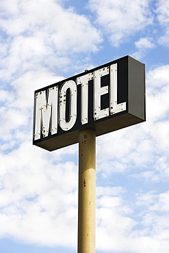 Motel sign, Saskatchewan canada