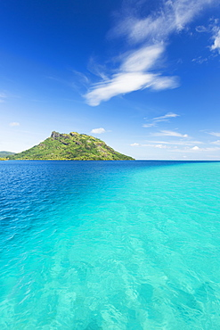 Lagoon And Tropical Blue Water, Huahine, French Polynesia