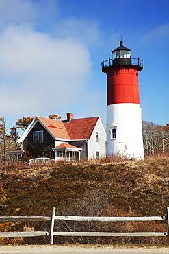 Nauset Lighthouse, Cape Cod, Eastham, Massachusetts, United States Of America