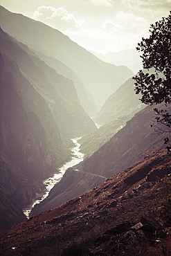 Tiger Leaping Gorge, The Deepest River Canyon, Yunnon Province, China