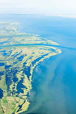 An Aerial View Of Hotham Inlet, The Kobuk River Delta And Surrounding Lakes And Wetlands, Kobuk, Arctic Alaska, Summer