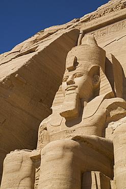 Colossi Of Ramses Ii, Sun Temple, Abu Simbel, Egypt