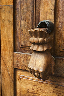 Door Handle Designed As A Hanging Human Hand, San Miguel De Allende, Guanajuato, Mexico