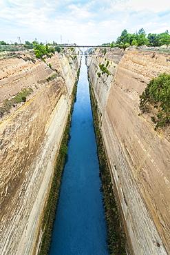 Corinth Canal, Corinth, Greece