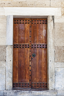 Wooden Door, Ancient Agora Museum, Athens, Greece