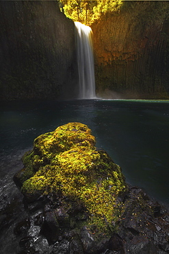 Abiqua Falls, Cascade Locks, Oregon, United States Of America