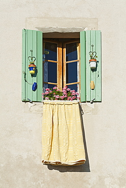 Window With Green Shutters, Provence, France