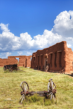 Fort Union National Monument, 1851-1891, New Mexico, United States Of America