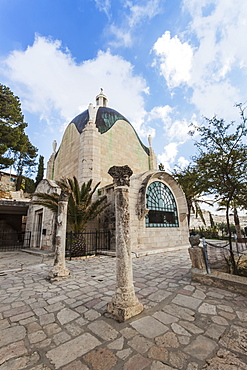 Tear Drop Church, Jerusalem, Israel