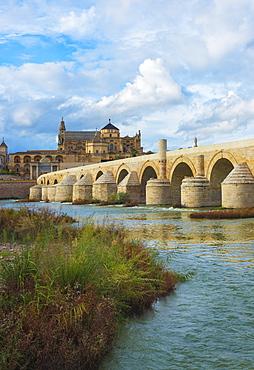Roman Bridge Of Cordoba, Cordoba, Andalusia, Spain