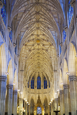 Interior Of Saint Patrick's Cathedral, New York City, New York, United States Of America