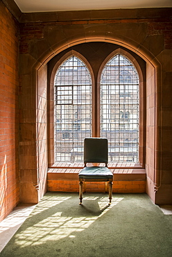Sun Streams Through A Window At The Scottish National Portrait Gallery, Edinburgh, Scotland