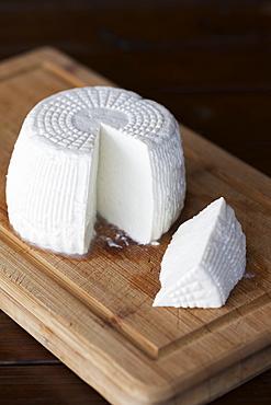 Corsican Brocciu Cheese On Cheese Board