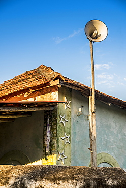 Loudspeaker Used For The Adhan Or Call To Prayer On Ibo Island, Quirimbas National Park, Cabo Delgado, Mozambique