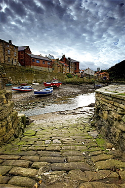 Staithes, North Yorkshire, England
