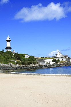 Shrove Lighthouse, Greencastle, County Donegal, Ireland