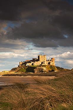 Bamburgh, Northumberland, England; Bamburgh Castle