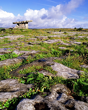 Poulnabrone Dolmen, The Burren, County Clare, Ireland