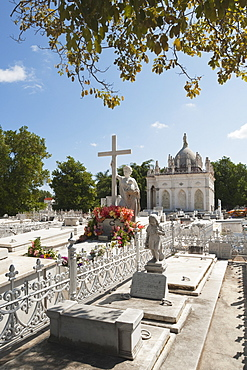 La Milagrosa (The Miraculous One) In Necropolis Colon, Second Largest Cemetery In The World; Havana, Cuba