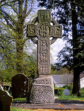 North High Cross, Castledermot, County Kildare, Ireland