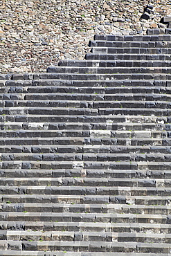 Steps of old temple at Chichen Itza