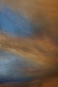 Cloud formation in dramatic sky