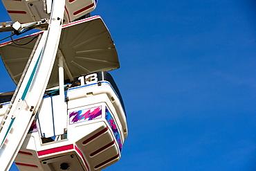 Low angle view of a ferris wheel, Riverfront Park, Cocoa Village, Cocoa Beach, Florida, USA