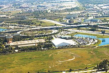 Aerial view of a city, Orlando, Florida, USA