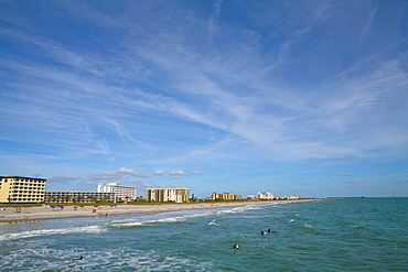Buildings at the waterfront, Cocoa Beach, Florida, USA