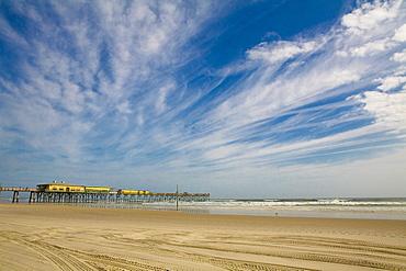 Jetty in the sea, Daytona Beach, Florida, USA