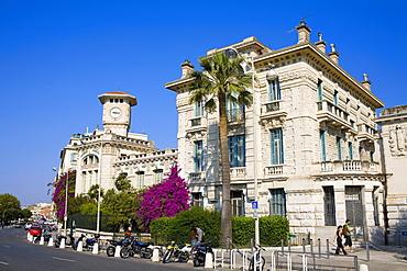 Building at the roadside, Nice, France