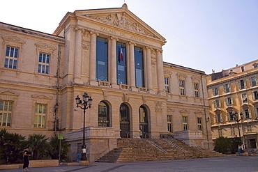 Facade of a building, Nice, France