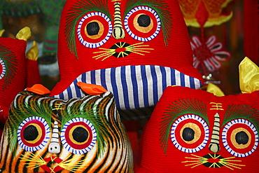 Close-up of cushions, Xi'an, Shaanxi Province, China