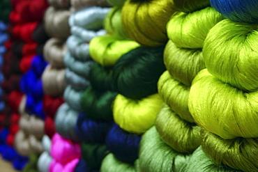 Large group of balls of wool, Vientiane, Laos