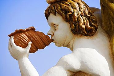 Close-up of a statue, Genoa, Liguria, Italy