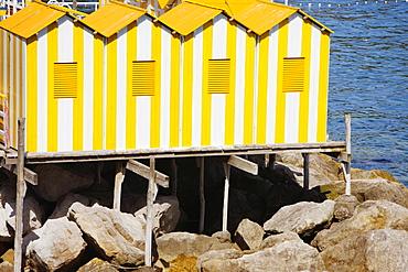 Tourist resort at the sea, Marina Grande, Capri, Sorrento, Sorrentine Peninsula, Naples Province, Campania, Italy